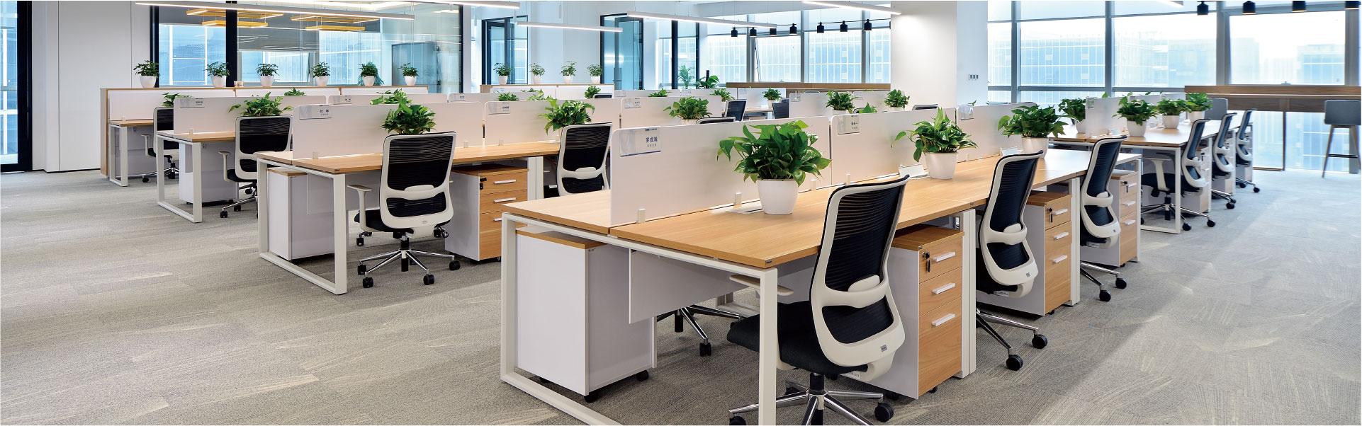 红星·美凯龙职员空间 圣奥办公家具设计
