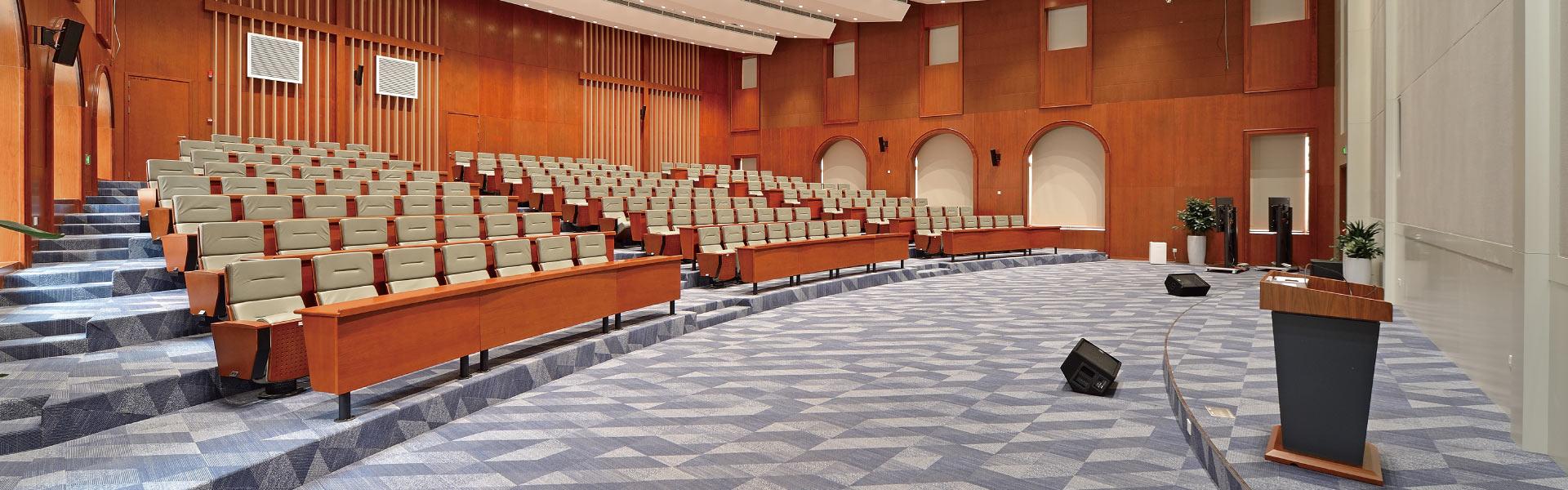 华为多功能会议厅 圣奥办公家具设计