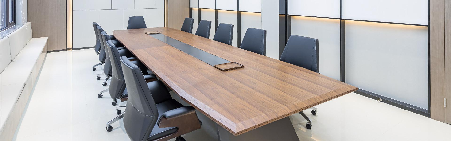 德业建设会议空间 圣奥办公家具设计