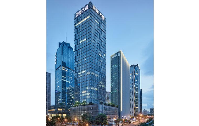 圣奥办公家具杭州总部大楼圣奥中央商务大厦