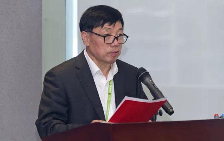 圣奥董事长倪良正为互助基金会致辞
