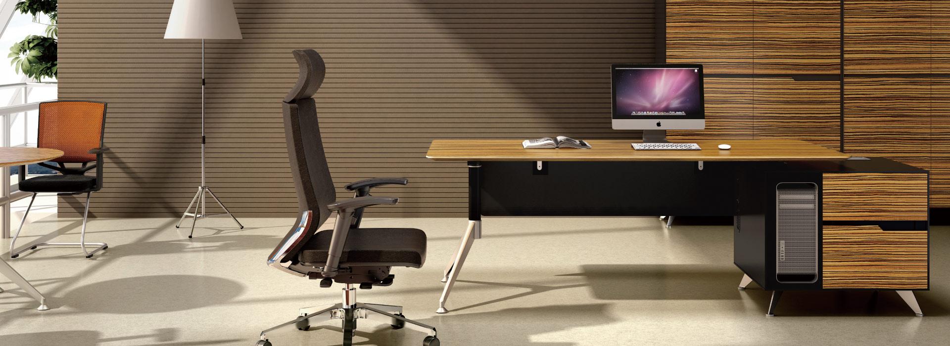 圣奥办公家具 I-Sharp主管办公桌