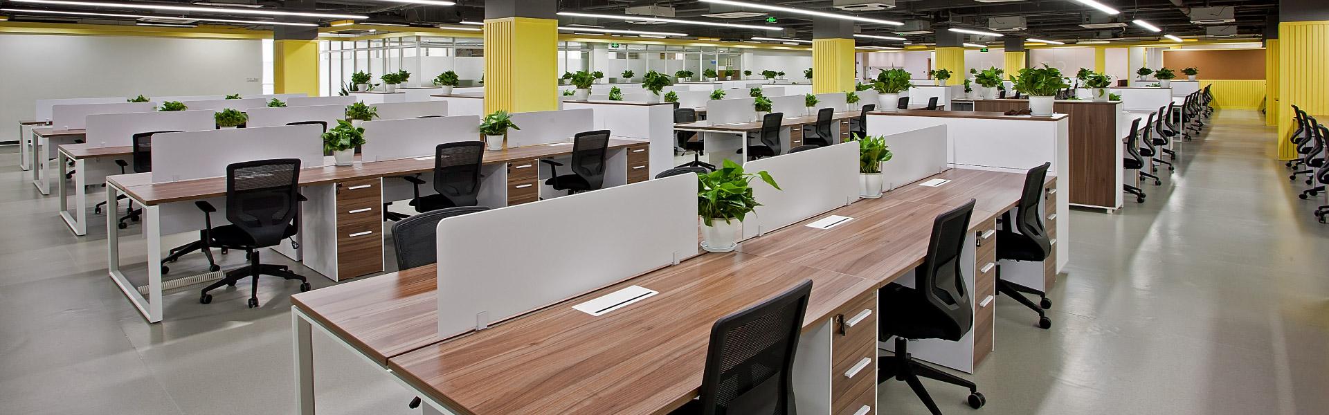 吉利高效的职员空间 圣奥办公家具设计