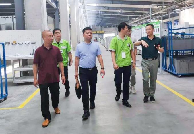 浙江省模具行业协会专家走访圣奥钱塘新区智能制造基地