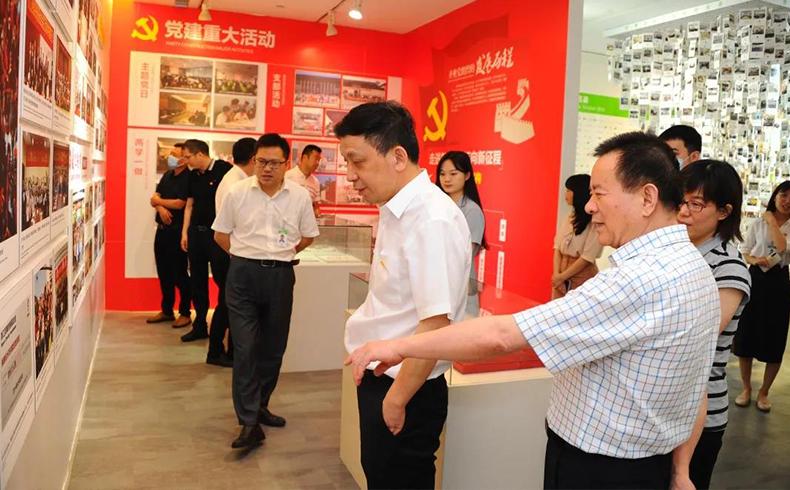 浙江省工商联党组成员、副主席林建良一行到圣奥开展主题党日活动