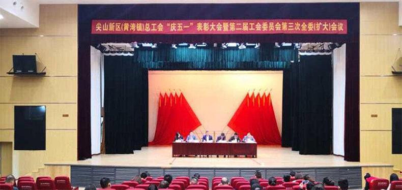 """圣奥办公家具员工李小玉被评为尖山新(黄湾镇)最美战""""疫""""志愿者"""