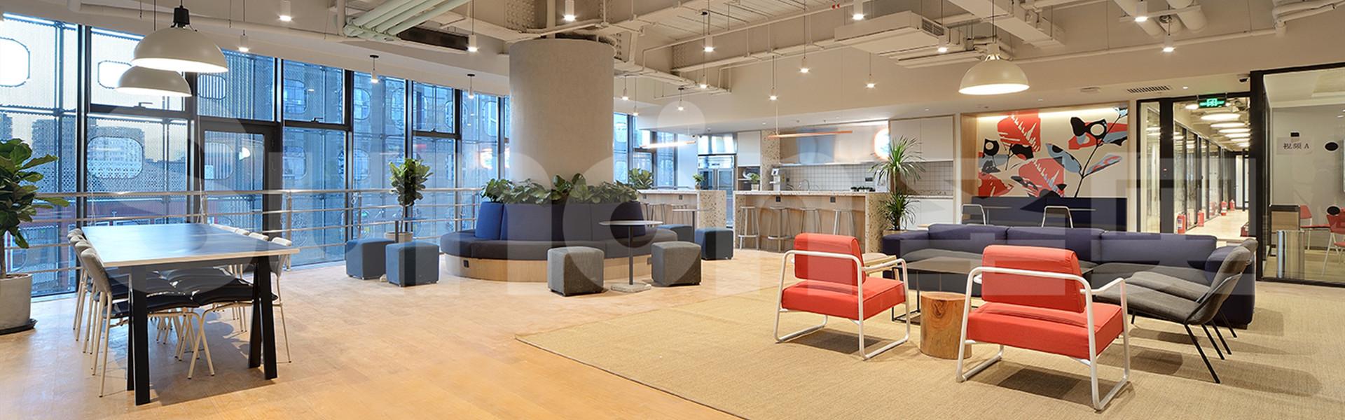 WeWork休闲空间 圣奥办公家具设计