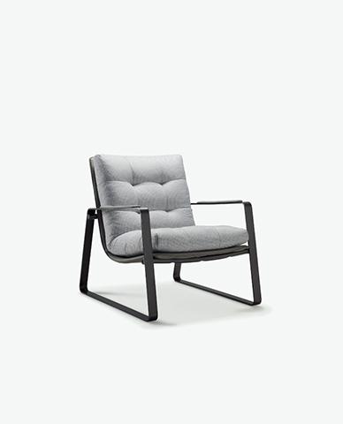 圣奥办公家具 悠西沙发椅 单体图