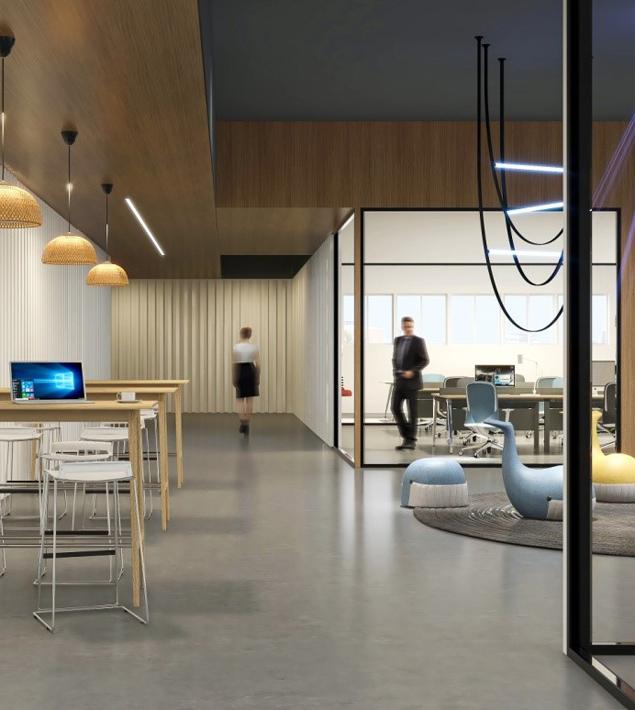 圣奥办公家具 SAMU鲸鱼沙发+大可健康办公解决方案
