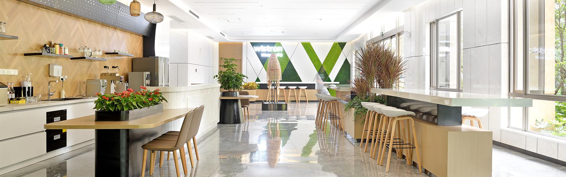 纬创软件休闲空间 圣奥办公家具设计