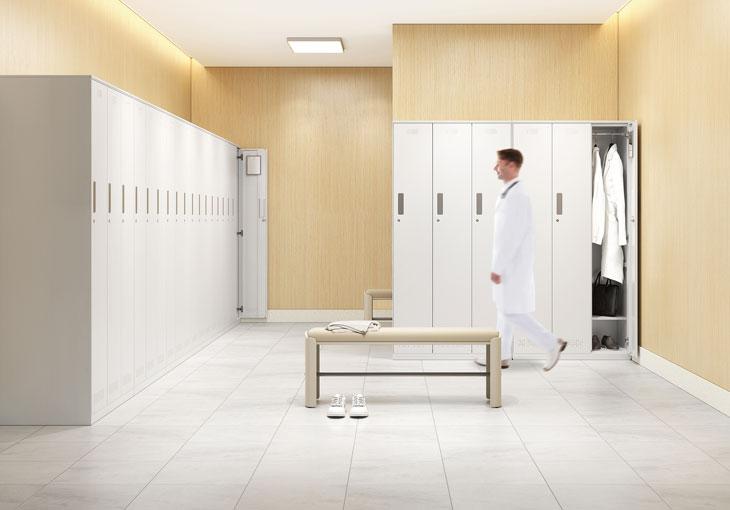 圣奥医疗家具 安纳系列更衣室