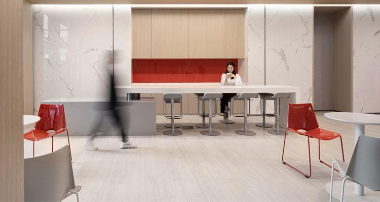 圣奥办公家具为TCL设计的洽谈空间解决方案