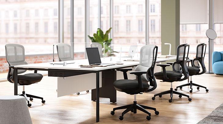 圣奥办公家具 哈途人体工学办公座椅场景图