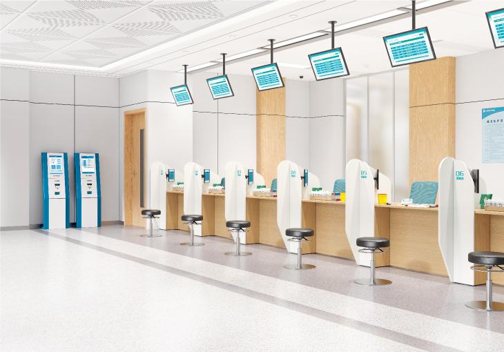 圣奥办公家具 安护系列问诊区医院家具