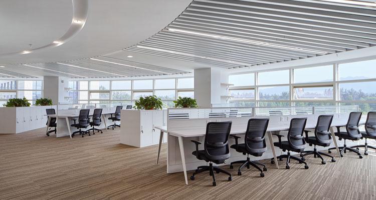 圣奥办公家具 建设银行办公桌椅
