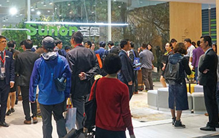 圣奥亮相第三十九届中国(广州)国际家具博览会办公家具展