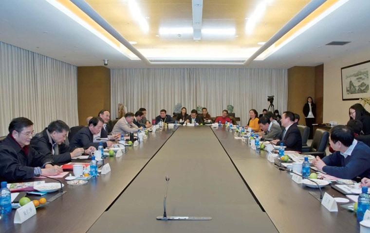圣奥慈善基金会2016迎新座谈会