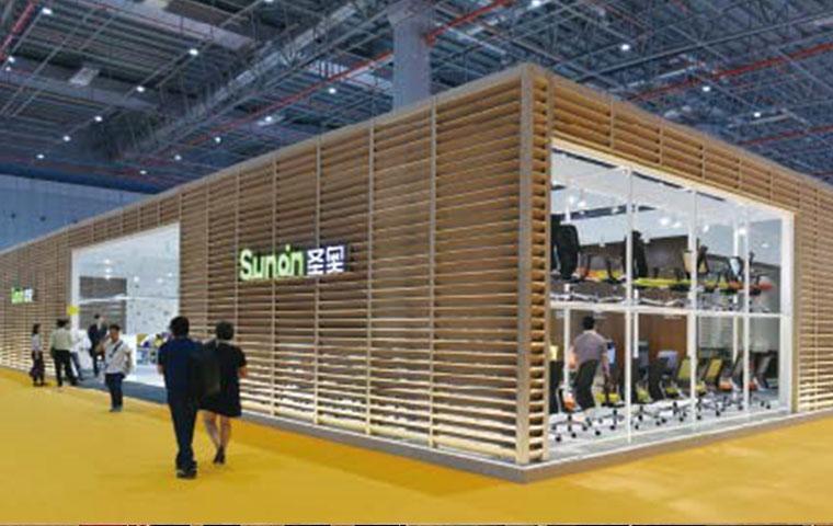 圣奥参展第三十六届中国国际家具博览会