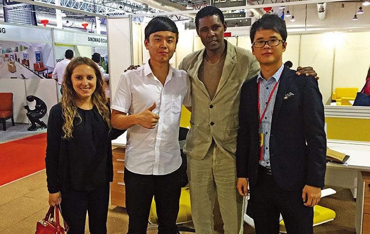 圣奥首次参展2015中国商品展览会