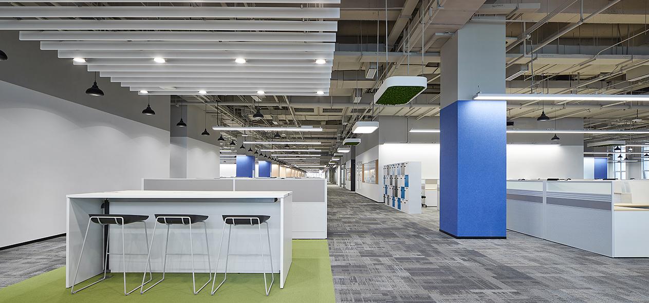 浙江圣奥办公家具为华为西安研究院提供办公家具