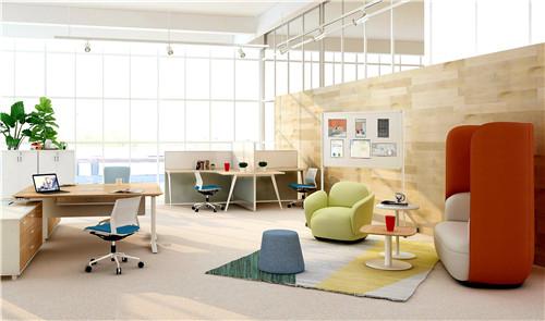 浙江圣奥办公家具为腾讯提供办公家具及空间解决方案