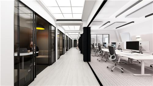 浙江圣奥办公家具为吉利汽车提供办公家具及空间解决方案