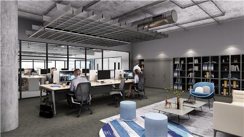 浙江圣奥办公家具为中信银行信银理财提供办公家具及空间解决方案