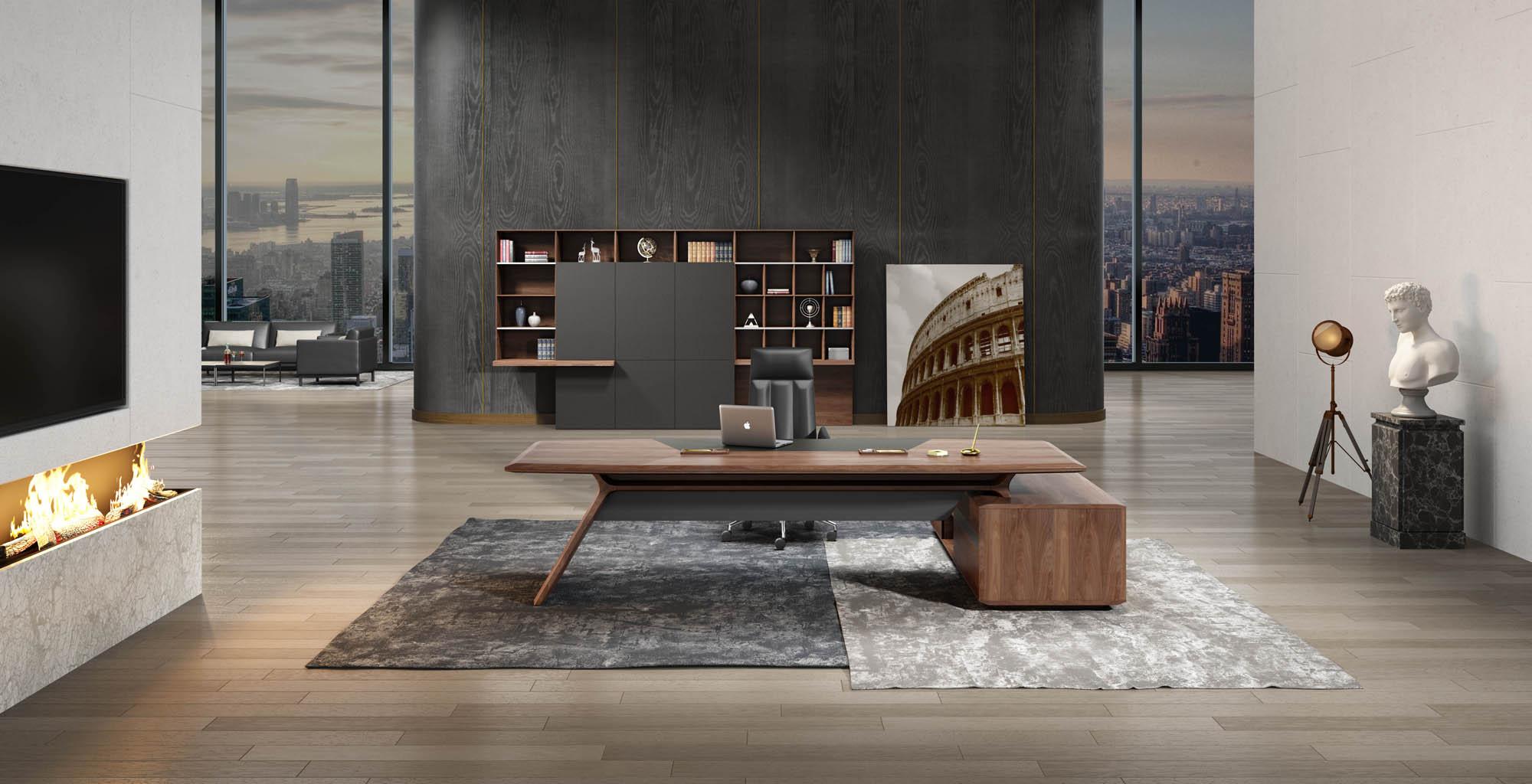 奥伦蒂系列办公家具 奥伦蒂高管空间 奥伦蒂办公桌 奥伦蒂办公椅 奥伦蒂文件柜