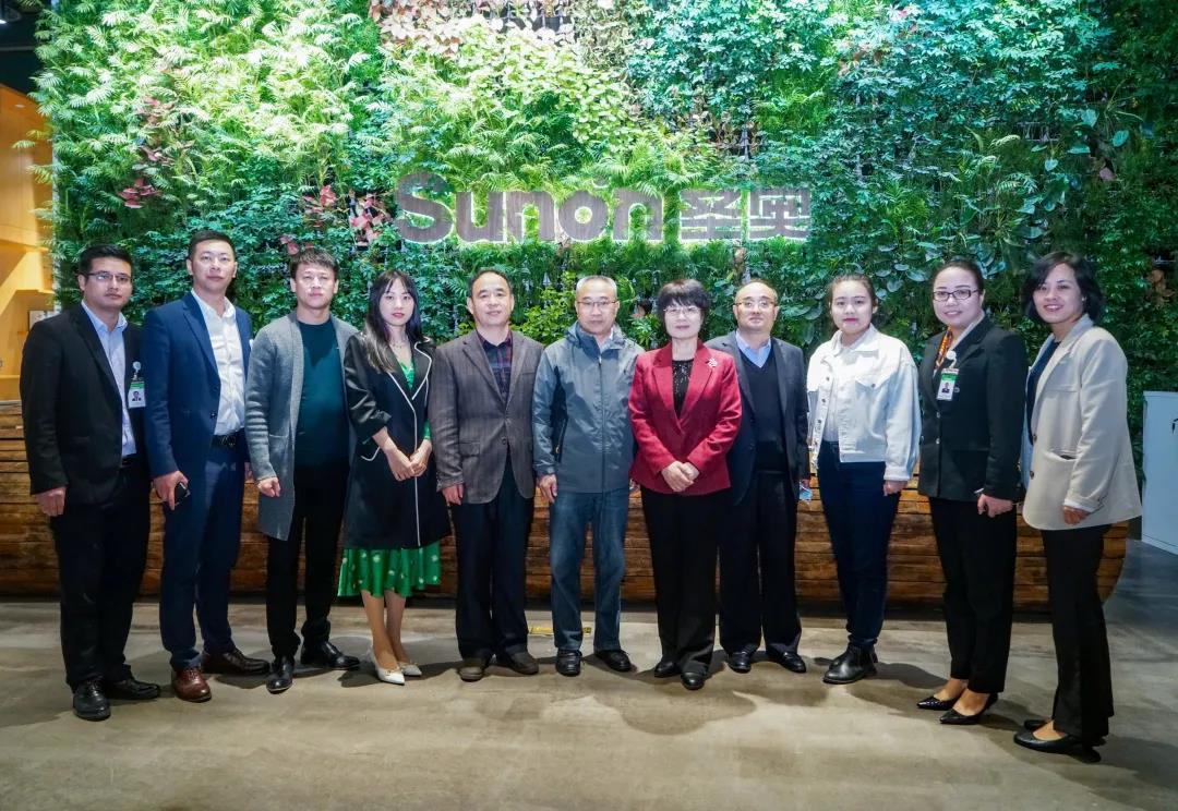 《公益时报》社社长刘京率队走访圣奥集团有限公司