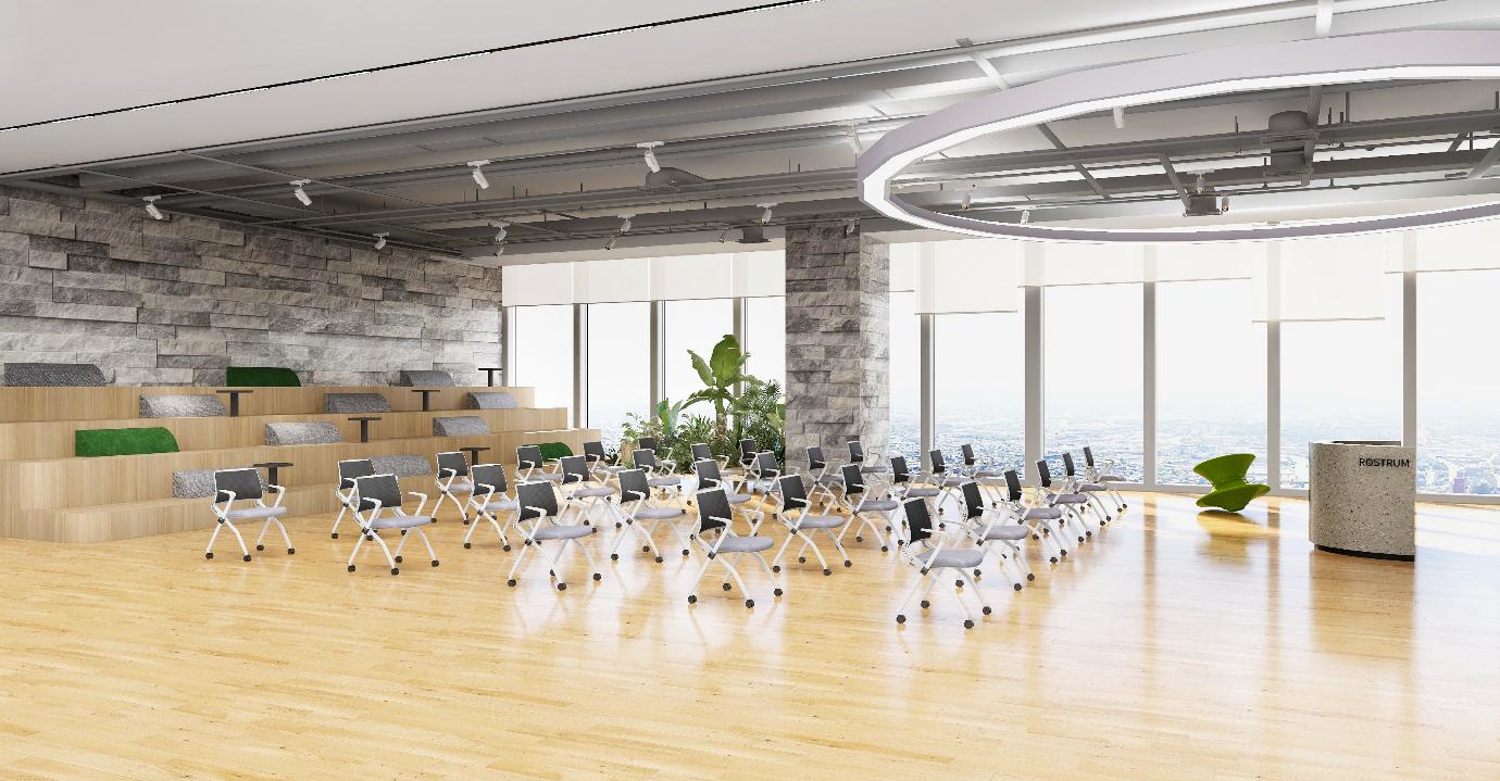 圣奥办公家具 会议椅 会议空间场景图