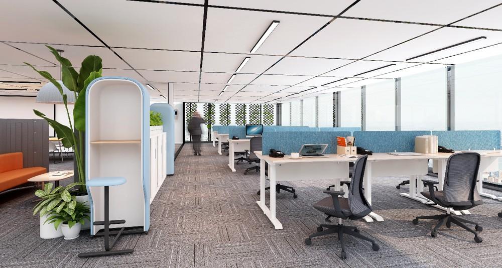 圣奥办公家具 办公空间+私密空间解决方案