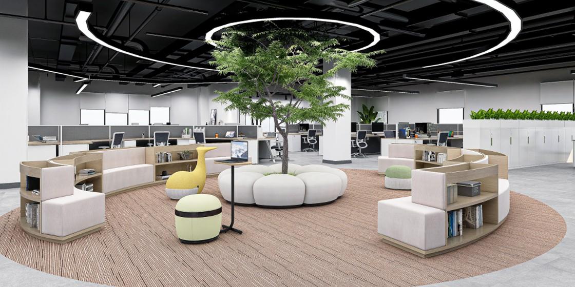 圣奥办公家具 办公室空间设计方案