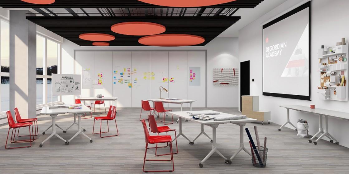圣奥办公家具 办公空间墙体利用解决方案