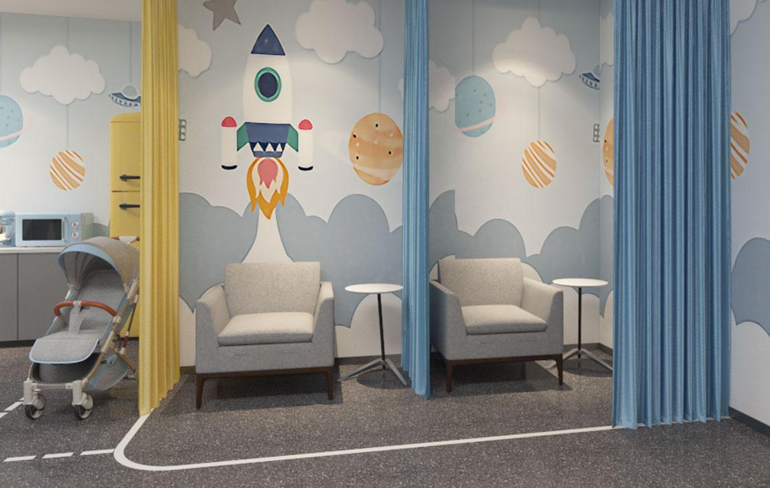 圣奥办公家具 母婴室哺乳室全景图