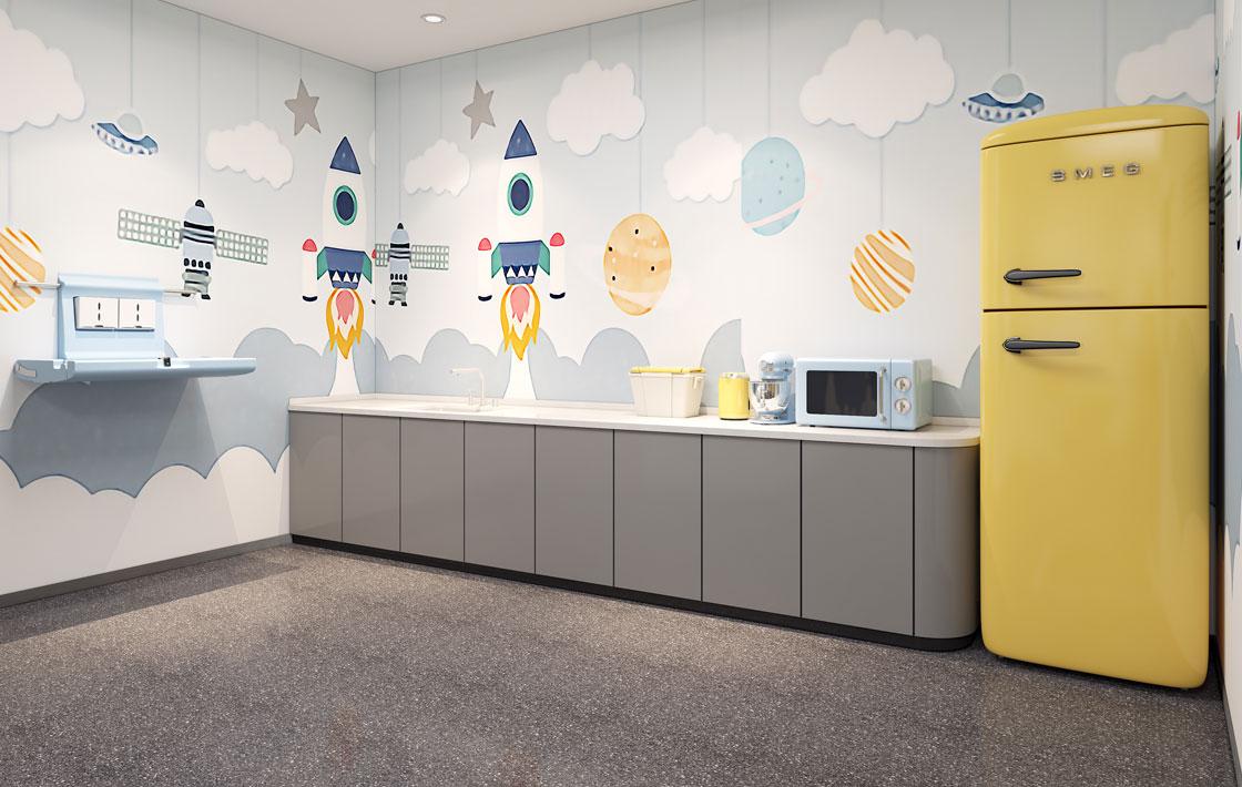 圣奥办公家具 母婴室哺乳室解决方案