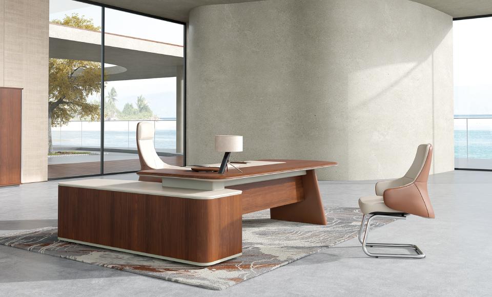 圣奥办公家具 天元实木办公桌椅系列