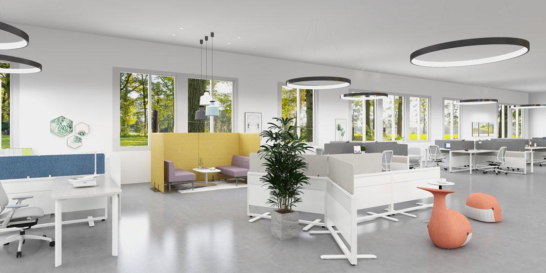 圣奥办公家具 智能组合型办公空间场景图