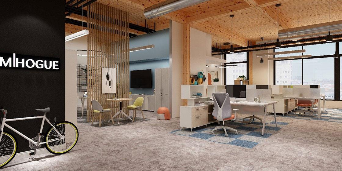 圣奥办公家具 灵派办公桌系列办公空间设计
