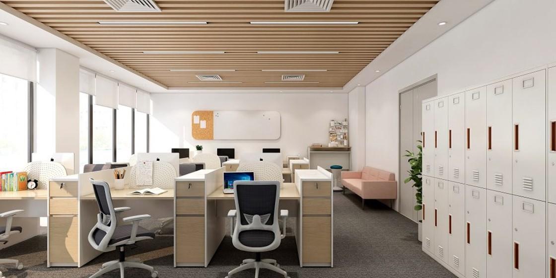 圣奥办公家具 小办公室超强收纳空间案例