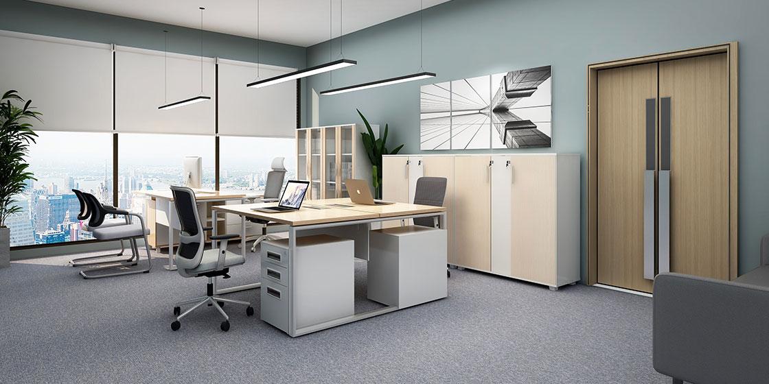 圣奥板式办公家具