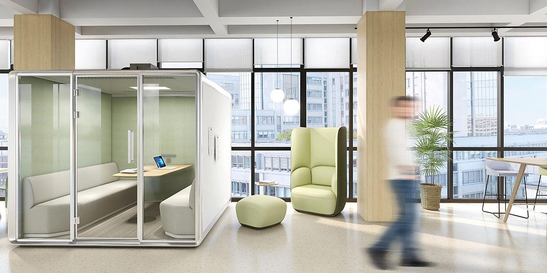 圣奥私密式办公家具