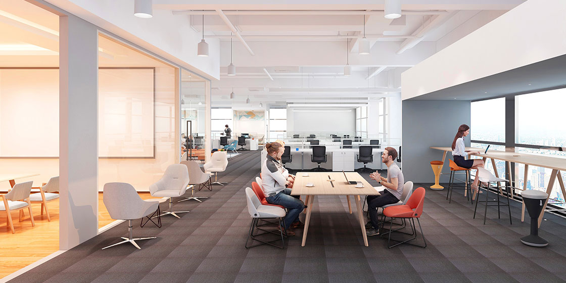 圣奥 共享型开放办公空间
