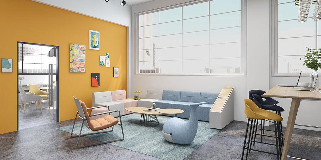 圣奥仿生设计创意办公家具
