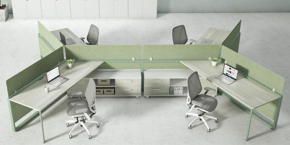 升降办公桌助力打造健康的协作办公空间