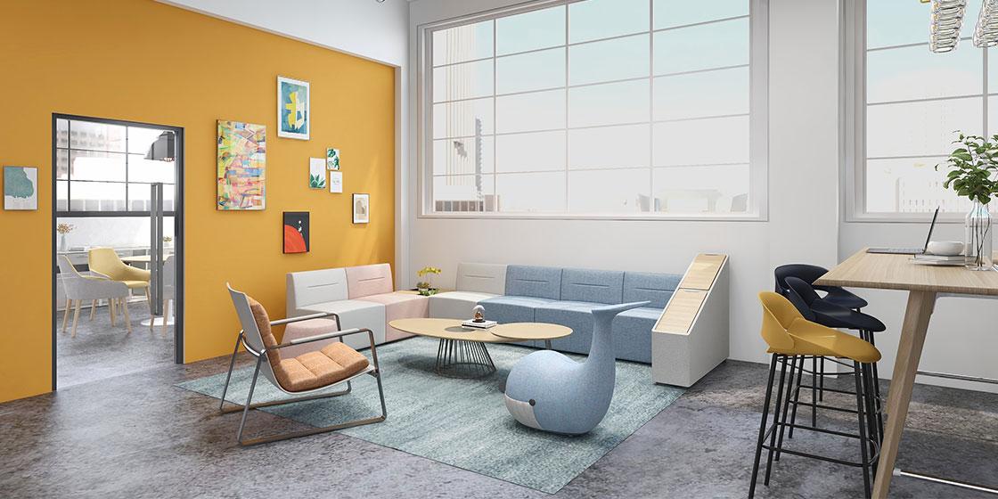 圣奥办公家具打造悠然舒适的休闲空间